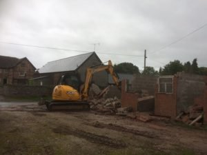Work starts on Mistletoe Cottage